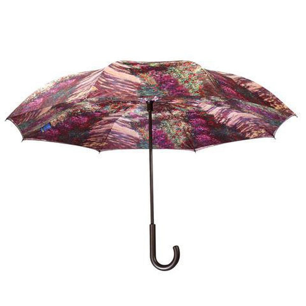 Galleria A Pathway by Monet - Reverse Closing Stick Umbrella-Nook and Cranny - 2019 REI National Gift Store of the Year