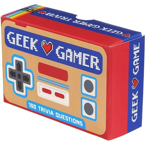Geek Gamer - test your knowledge of computer games and consoles-Nook and Cranny - 2019 REI National Gift Store of the Year
