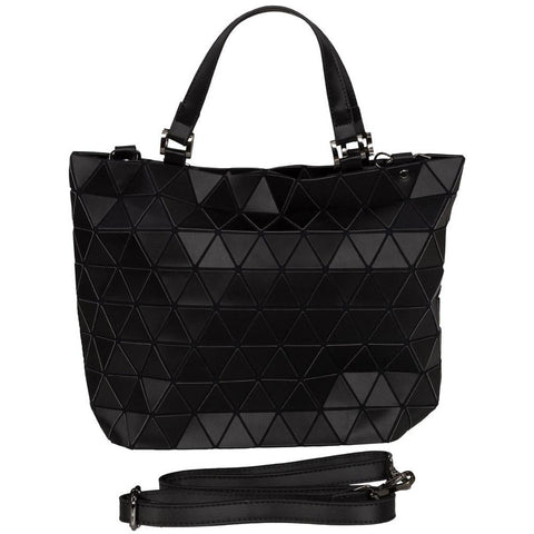 Geometrical Bag - Large (Matt Black Finish)-Nook and Cranny - 2019 REI National Gift Store of the Year