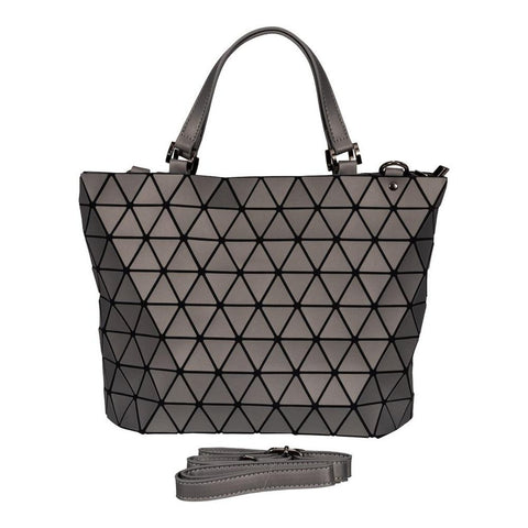 Geometrical Bag - Large (Matt Grey Finish)-Nook and Cranny - 2019 REI National Gift Store of the Year