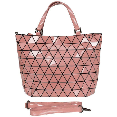 Geometrical Bag - Large (Rose Gloss Finish)-Nook and Cranny - 2019 REI National Gift Store of the Year