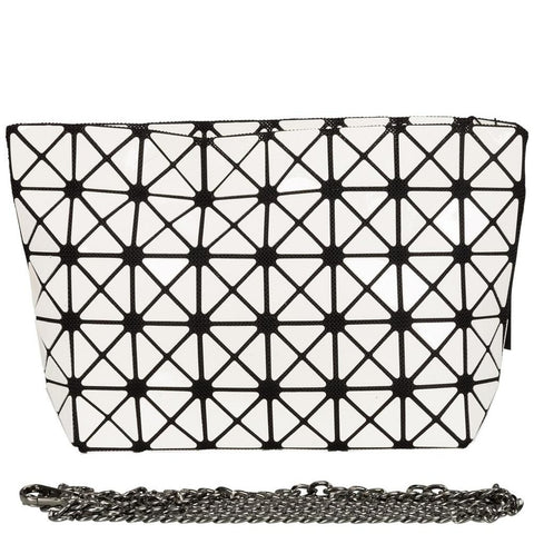 Geometrical Bag - Small (White gloss finish)-Nook and Cranny - 2019 REI National Gift Store of the Year
