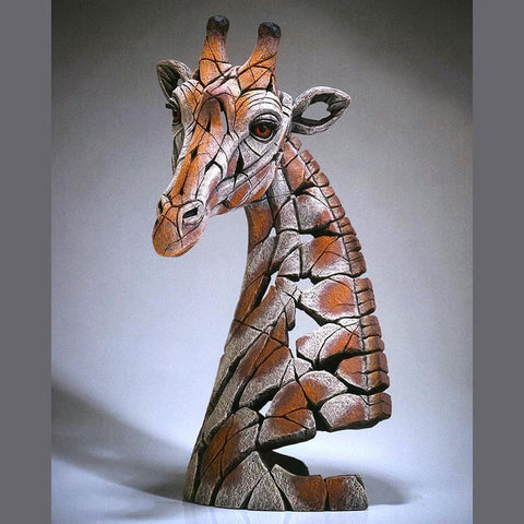 Giraffe Bust Sculpture (In Stock)-Nook and Cranny - 2019 REI National Gift Store of the Year