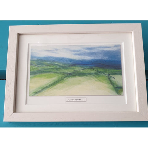 'Going Home' - Framed Irish Art Print-Nook and Cranny - 2019 REI National Gift Store of the Year
