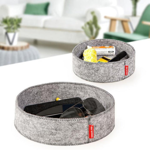 Grey Felt Catch-All Trays-Nook and Cranny - 2019 REI National Gift Store of the Year