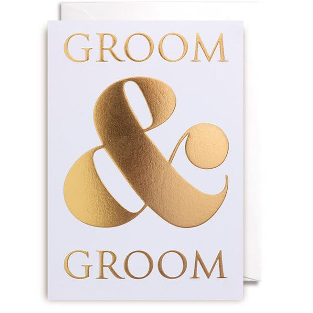 Groom & Groom Wedding Card-Nook & Cranny Gift Store-2019 National Gift Store Of The Year-Ireland-Gift Shop