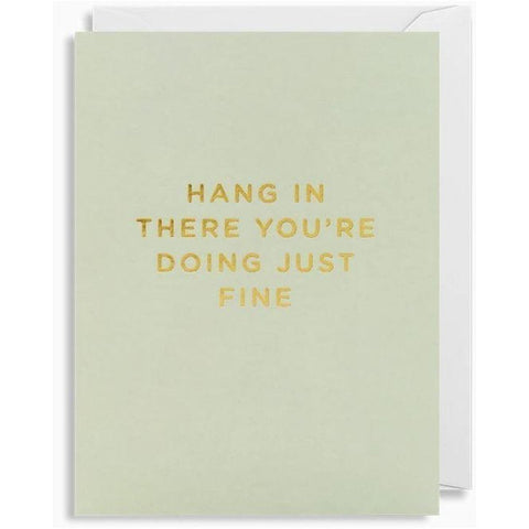 Hang In There... card-Nook and Cranny - 2019 REI National Gift Store of the Year
