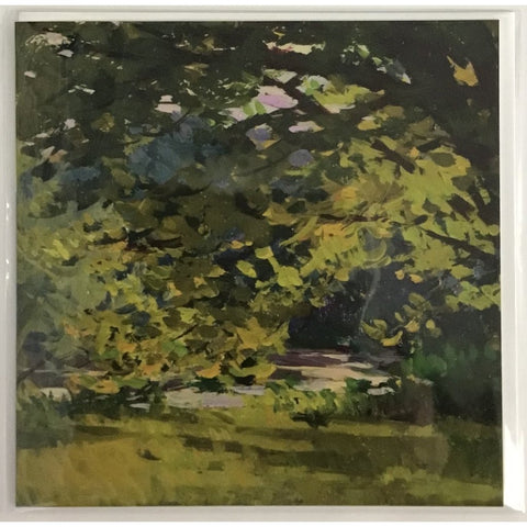 Hans Iten - Meadow with Trees by a River Card-Nook & Cranny Gift Store-2019 National Gift Store Of The Year-Ireland-Gift Shop