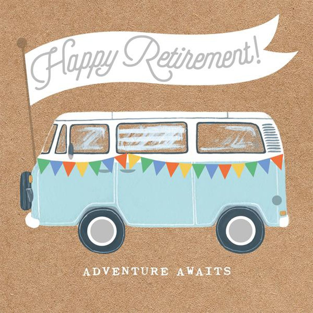 Happy Retirement! Adventure Awaits - Card-Nook and Cranny - 2019 REI National Gift Store of the Year