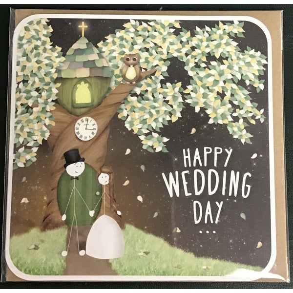 Happy Wedding Day - Card-Nook and Cranny - 2019 REI National Gift Store of the Year