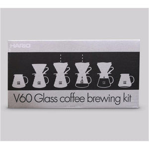 Hario - V60 Glass Brewing Kit-Nook and Cranny - 2019 REI National Gift Store of the Year