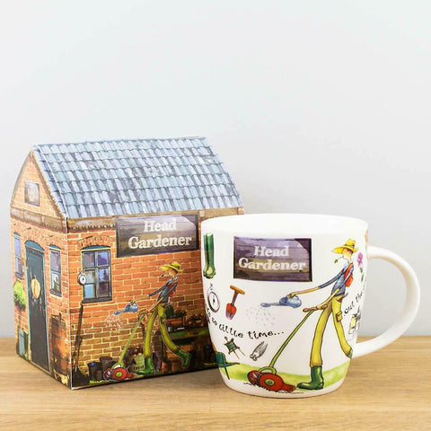 Head Gardener Porcelain Mug - Gift Boxed-Nook and Cranny - 2019 REI National Gift Store of the Year