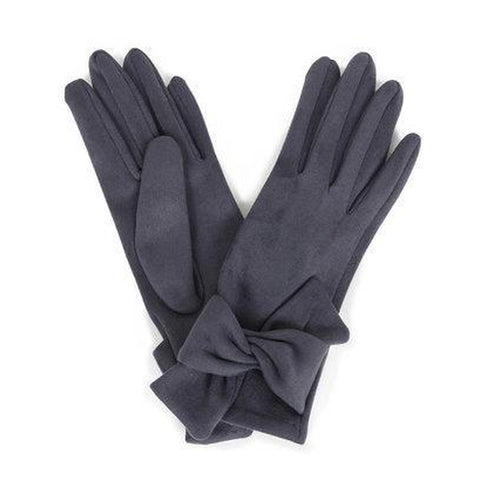 Henrietta Faux Suede Gloves in Charcoal-Nook and Cranny - 2019 REI National Gift Store of the Year