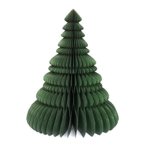 Honeycomb X-mas Tree - 45cm - Green-Nook & Cranny Gift Store-2019 National Gift Store Of The Year-Ireland-Gift Shop