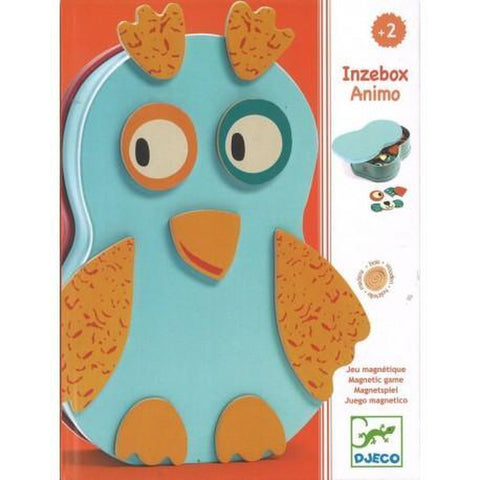 Inzebox Animo Magnetic Game - Ages 2+-Nook and Cranny - 2019 REI National Gift Store of the Year