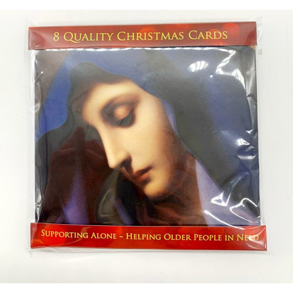 Irish Made Christmas Cards - Madonna (Pack of 8)-Nook and Cranny - 2019 REI National Gift Store of the Year