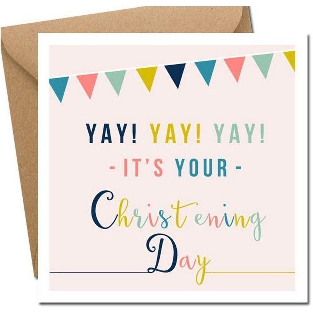 It's Your Christening Day Card-Nook and Cranny - 2019 REI National Gift Store of the Year