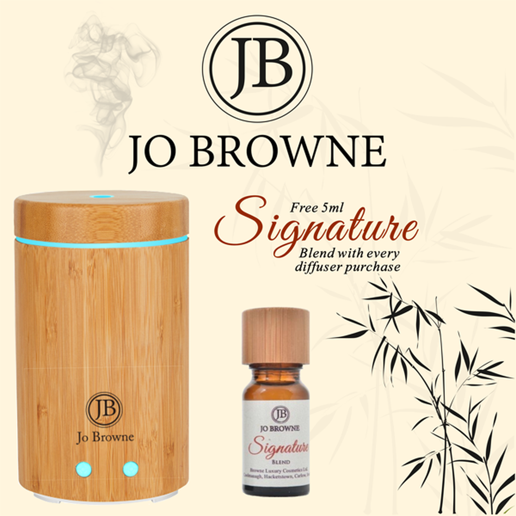 Jo Browne - Scent Diffuser with Light Therapy (includes Signature Essential Oil)-Nook & Cranny Gift Store-2019 National Gift Store Of The Year-Ireland-Gift Shop