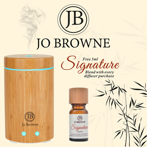 Jo Browne - Scent Diffuser with Light Therapy (includes Signature Essential Oil)-Nook and Cranny - 2019 REI National Gift Store of the Year