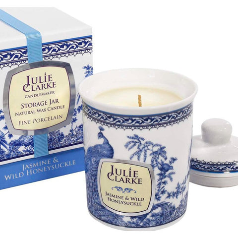 Julie Clarke - Jasmine & Wild Honeysuckle Candle (Vegan and Cruelty Free)-Nook & Cranny Gift Store-2019 National Gift Store Of The Year-Ireland-Gift Shop