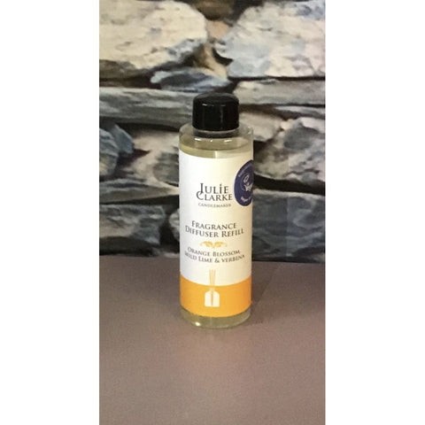 Julie Clarke - Orange Blossom, Wild Lime & Verbena Diffuser Refill-Nook and Cranny - 2019 REI National Gift Store of the Year