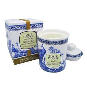 Julie Clarke - Wild fig, blackcurrant & vanilla Scented Candle (Vegan and Cruelty Free)-Nook & Cranny Gift Store-2019 National Gift Store Of The Year-Ireland-Gift Shop