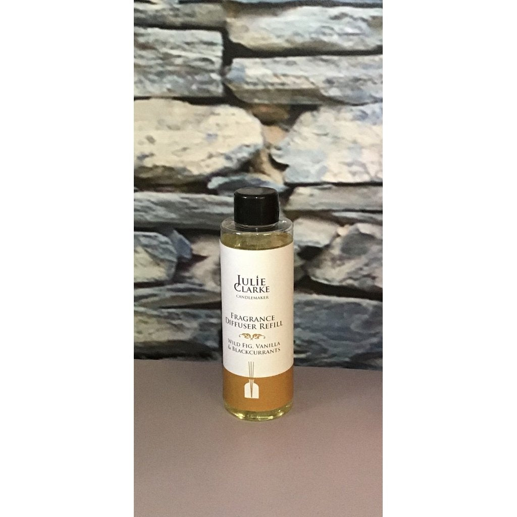 Julie Clarke - Wild fig, Vanilla, Blackcurrants Diffuser Refill-Nook and Cranny - 2019 REI National Gift Store of the Year