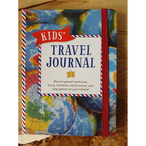 Kids' Travel Journal (Interactive Diary, Notebook)-Nook and Cranny - 2019 REI National Gift Store of the Year