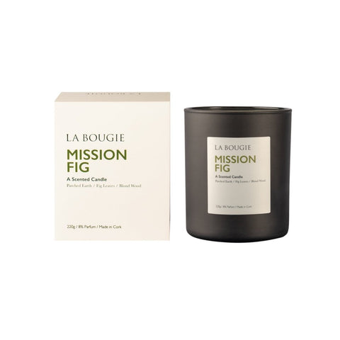 La Bougie - Mission Fig Candle-Nook and Cranny - 2019 REI National Gift Store of the Year