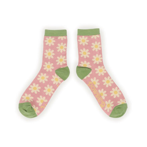 Ladies Ankle Socks - Daisies UK Size 5-8-Nook and Cranny - 2019 REI National Gift Store of the Year