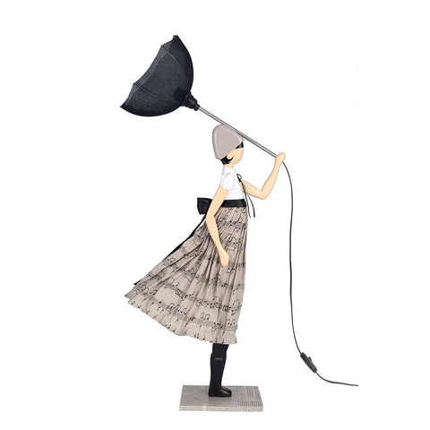 'Lady Georgia' Designer Table Lamp-Nook and Cranny - 2019 REI National Gift Store of the Year