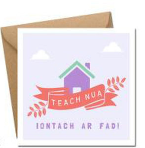 Teach Nua (Iontach ar fad) - Card-Nook & Cranny Gift Store-2019 National Gift Store Of The Year-Ireland-Gift Shop