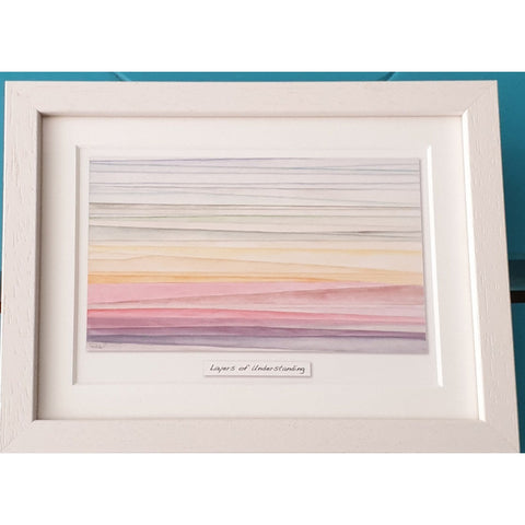 Layers Of understanding - Framed Irish Art Print-Nook and Cranny - 2019 REI National Gift Store of the Year