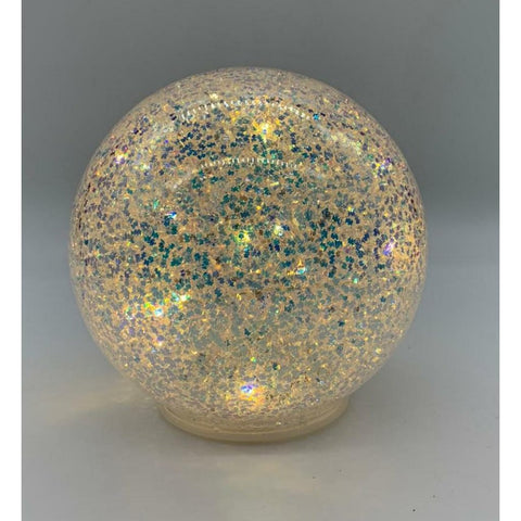 LED Light up Golden Glass Ball - 18cm-Nook & Cranny Gift Store-2019 National Gift Store Of The Year-Ireland-Gift Shop