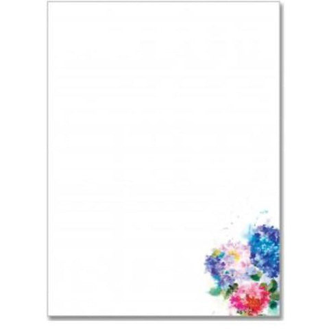 Letter Perfect - Stationery Set of 30 (Hydrangeas)-Nook and Cranny - 2019 REI National Gift Store of the Year