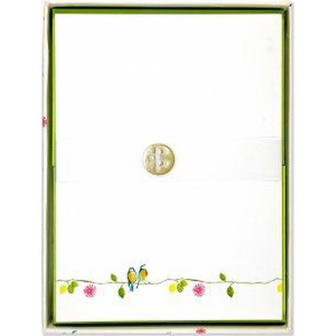 Letter Perfect - Stationery Set of 30 (Watercolour Birds)-Nook and Cranny - 2019 REI National Gift Store of the Year