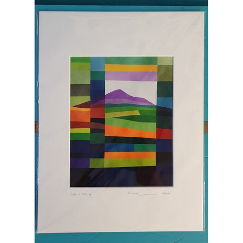 'Life is Calling' - Mounted Irish Print-Nook and Cranny - 2019 REI National Gift Store of the Year