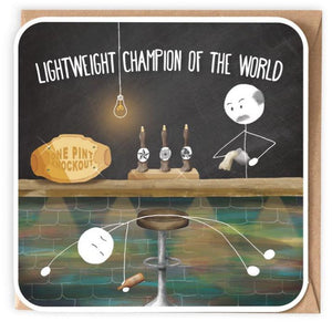 Lightweight Champion of the World - Card-Nook and Cranny - 2019 REI National Gift Store of the Year