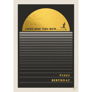 Long May You Run - Birthday Card-Nook and Cranny - 2019 REI National Gift Store of the Year