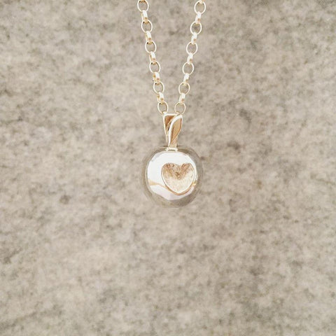 Love Bite Sterling Silver Necklace - Made in Laois-Nook and Cranny - 2019 REI National Gift Store of the Year