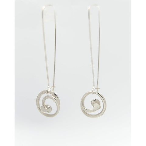 Love Knot Sterling Silver Drop Earrings - Made in Laois-Nook and Cranny - 2019 REI National Gift Store of the Year