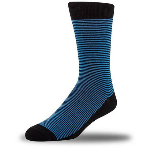 Luxury Bamboo Socks - Mini Stripe-Nook and Cranny - 2019 REI National Gift Store of the Year