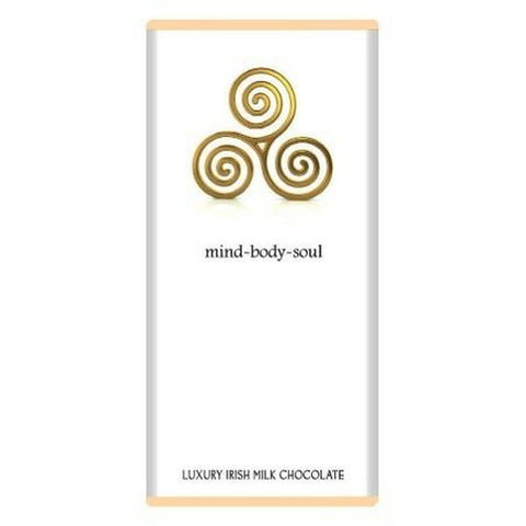 Luxury Irish Milk Chocolate 75g Bar – 'Mind, body, soul'-Nook and Cranny - 2019 REI National Gift Store of the Year