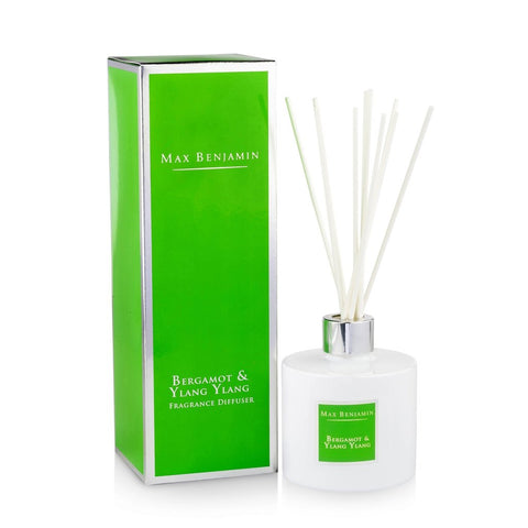 Max Benjamin - Bergamot & Ylang Ylang Luxury Diffuser-Nook & Cranny Gift Store-2019 National Gift Store Of The Year-Ireland-Gift Shop