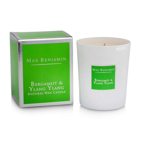 Max Benjamin - Bergamot & Ylang Ylang Luxury Natural Candle-Nook & Cranny Gift Store-2019 National Gift Store Of The Year-Ireland-Gift Shop