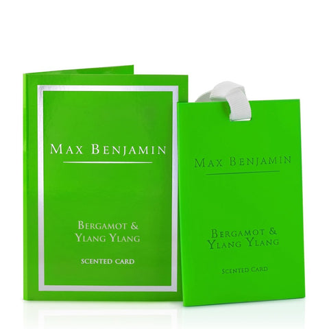 Max Benjamin - Bergamot & Ylang Ylang Luxury Scented Card-Nook and Cranny - 2019 REI National Gift Store of the Year