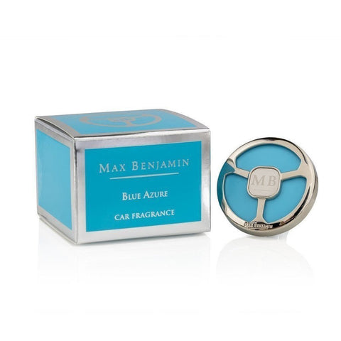 Max Benjamin - Blue Azure Luxury Car Fragrance-Nook and Cranny - 2019 REI National Gift Store of the Year