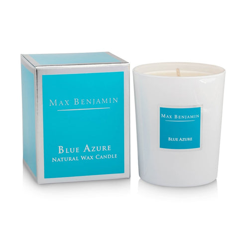Max Benjamin - Blue Azure Luxury Natural Candle-Nook and Cranny - 2019 REI National Gift Store of the Year