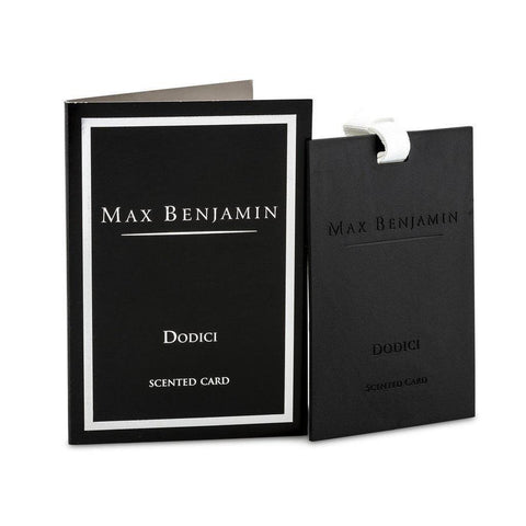 Max Benjamin - Dodici Luxury Scented Card-Nook & Cranny Gift Store-2019 National Gift Store Of The Year-Ireland-Gift Shop