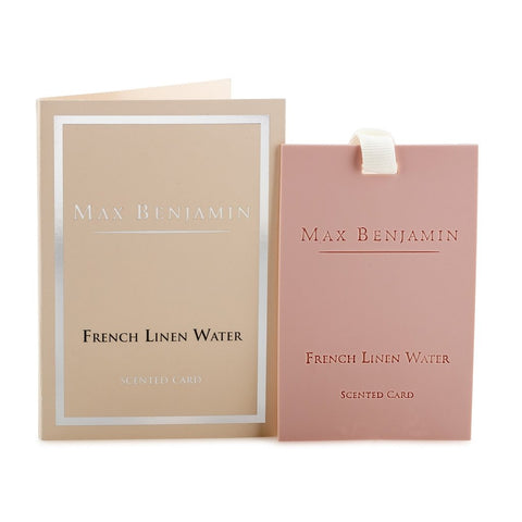 Max Benjamin - French Linen Water Luxury Scented Card-Nook and Cranny - 2019 REI National Gift Store of the Year
